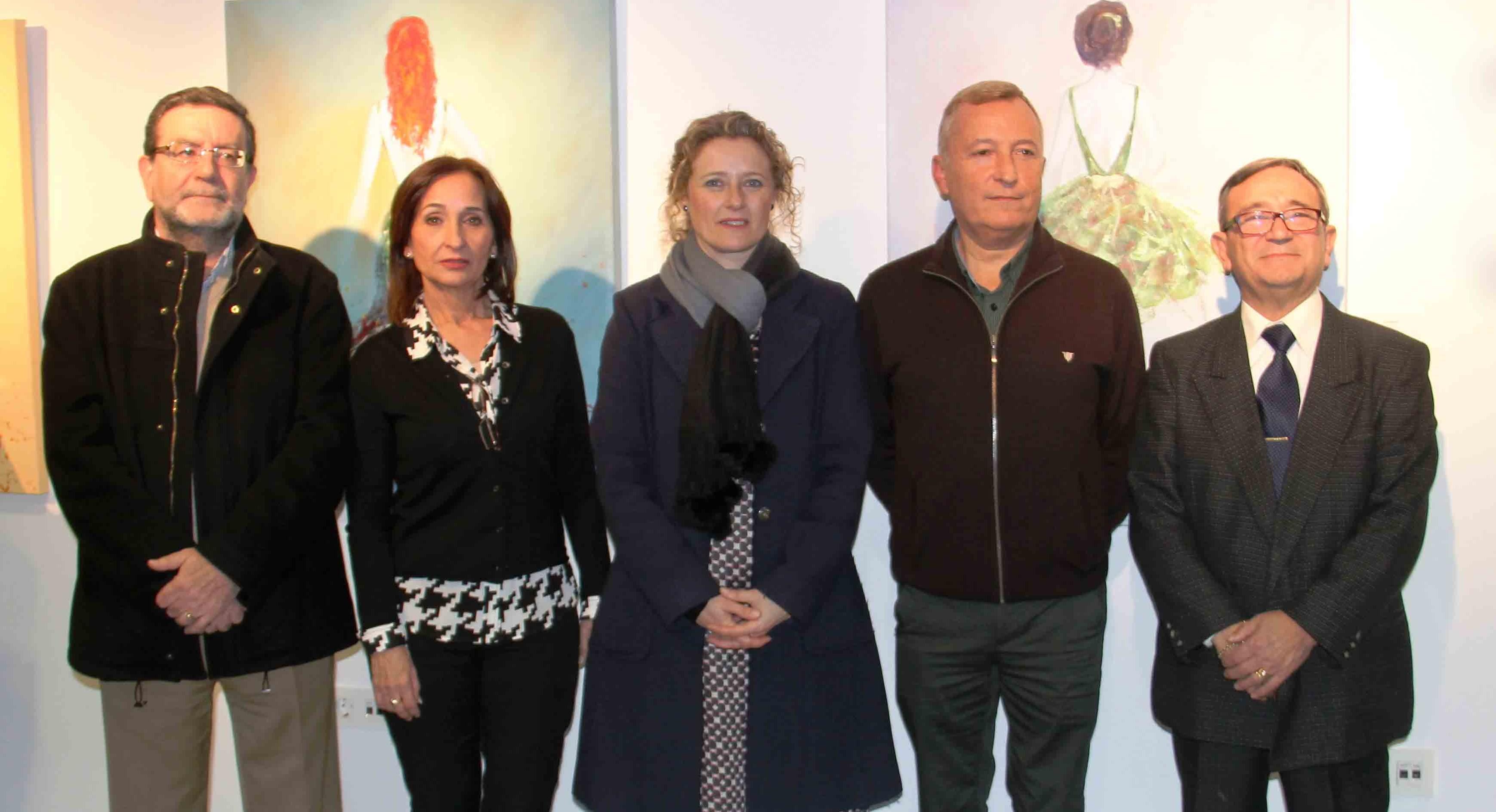 Los artistas de Torrent Antonio Fernández y Vicente Andrés exponen en la Casa de la Dona