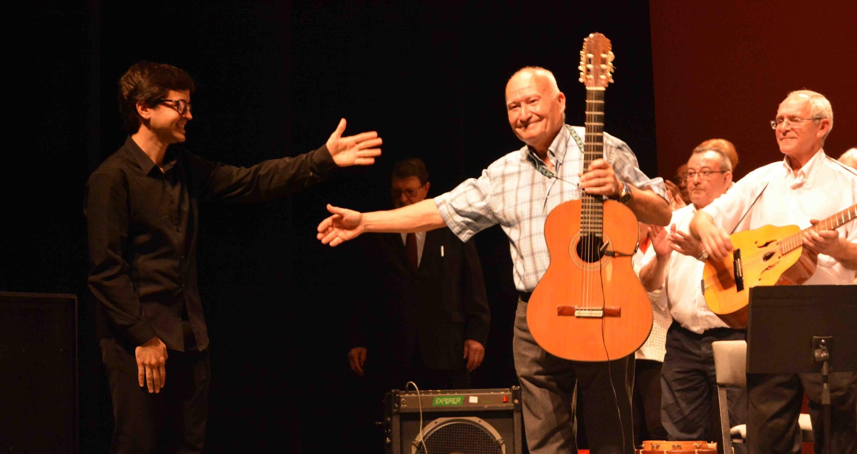Gran actuación de los Mayores de Aldaia en el teatro TAMA