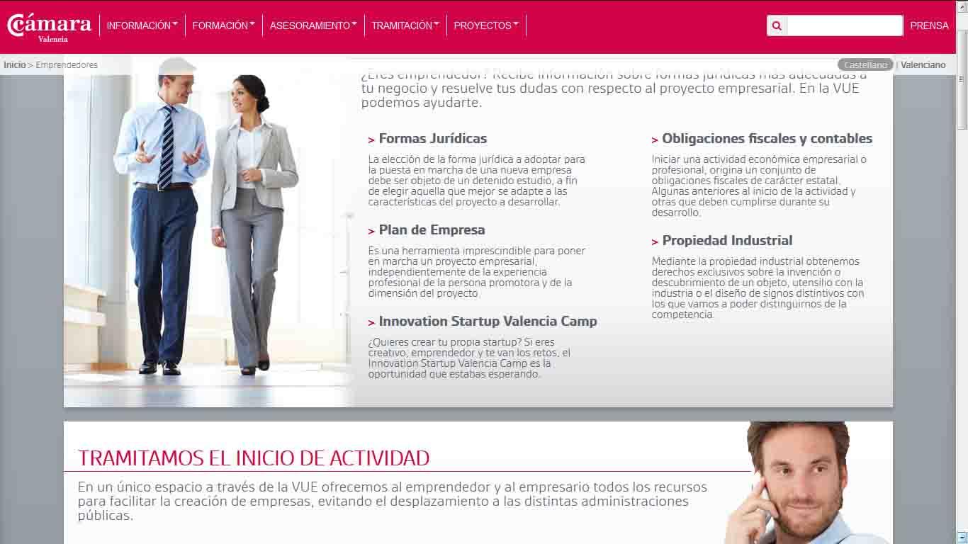 C mara valencia celebra un seminario para emprendedores en - El tiempo en paterna valencia ...