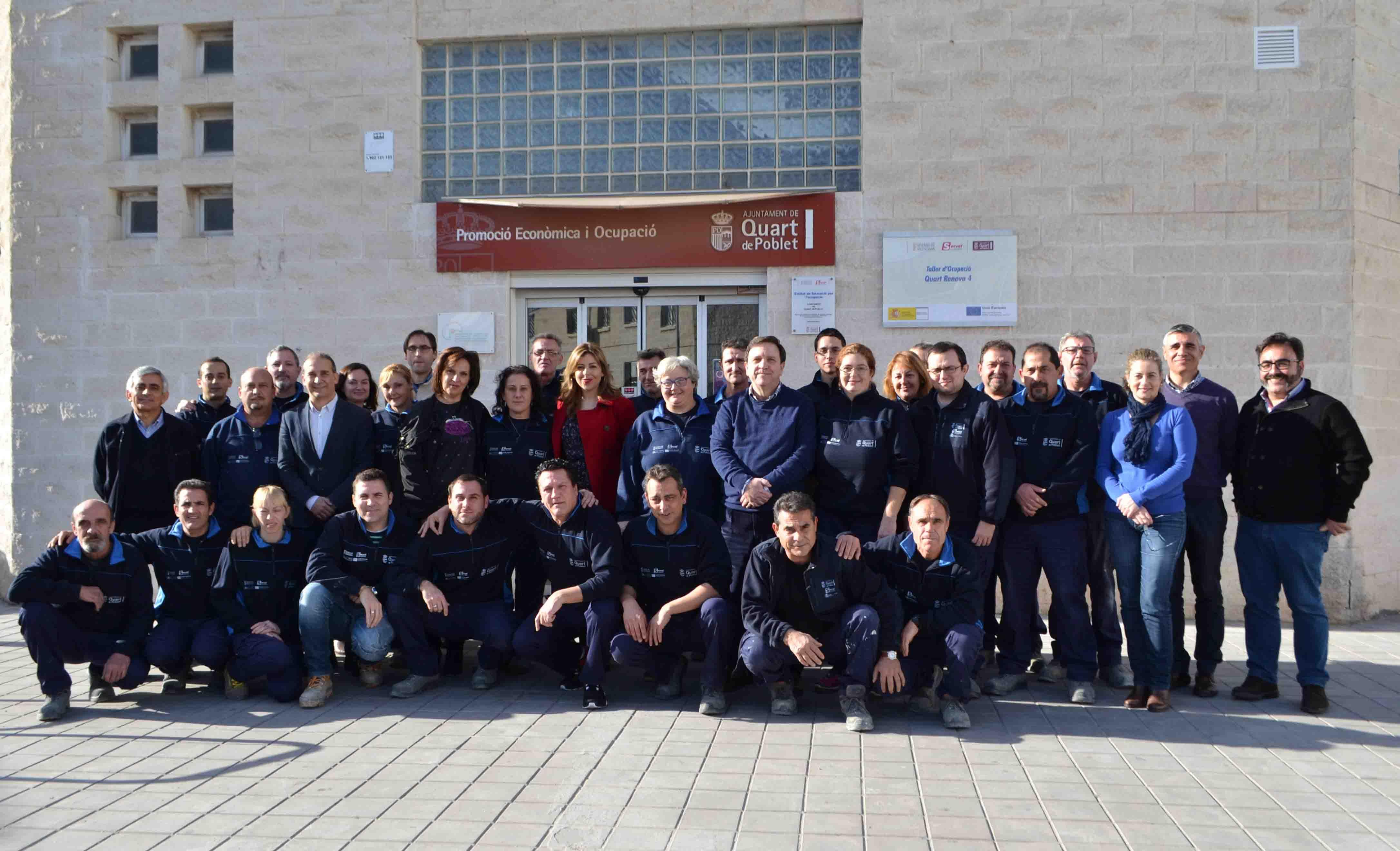 En marcha el taller de empleo quart renova que ofrece for Gimnasio quart de poblet