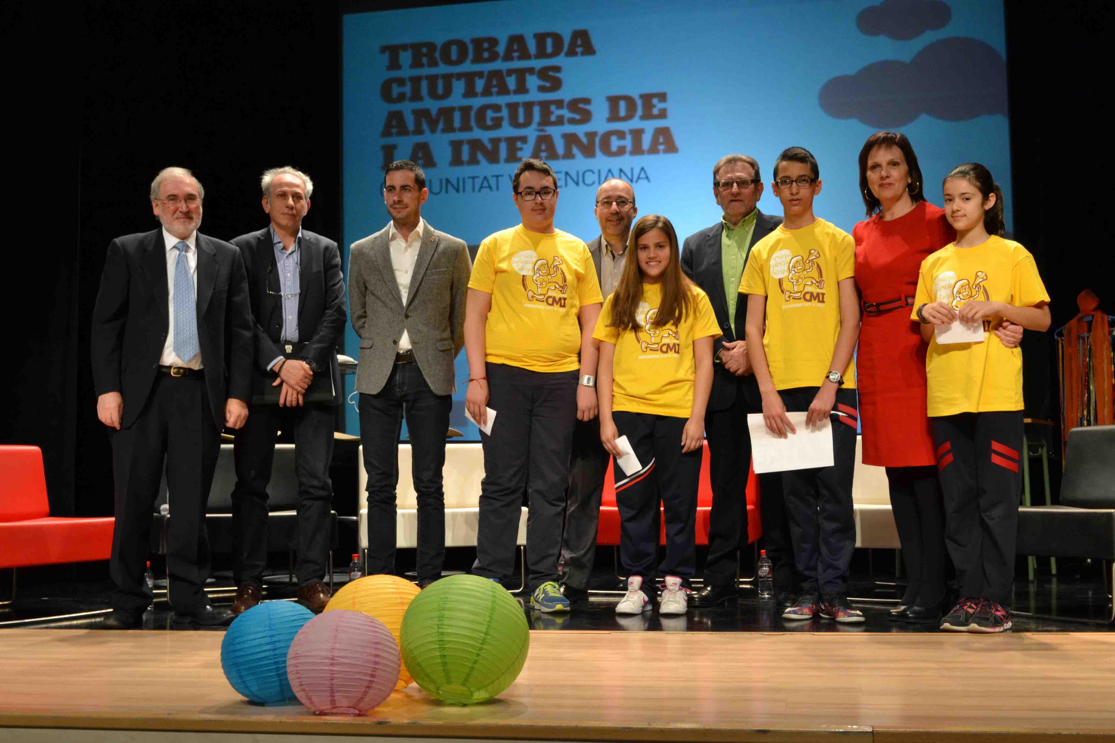 24 municipios valencianos se reúnen en Quart de Poblet en el Encuentro de Ciudades Amigas de la Infancia